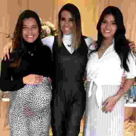 Solange Frazão e as filhas, Bruna e Thabata - Instagram