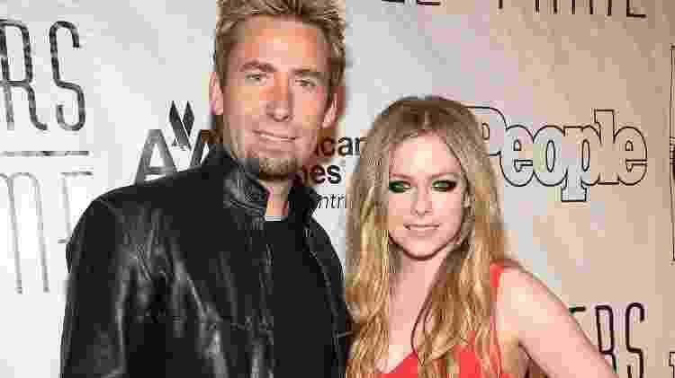 Chad Kroeger e Avril Lavigne - Theo Wargo/Getty Images - Theo Wargo/Getty Images
