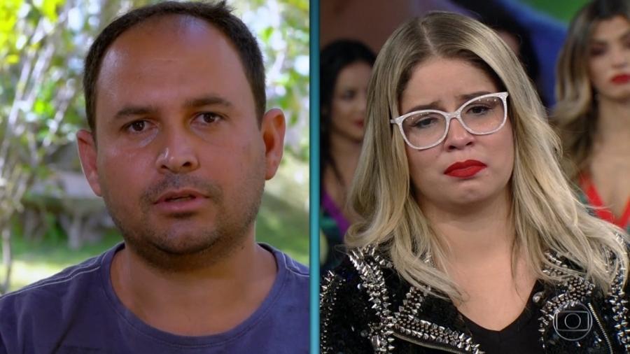 """Júnior Soares, ex-padrasto de Marília Mendonça, que gravou depoimento no """"Arquivo Confidencial"""" - Reprodução/Globoplay"""