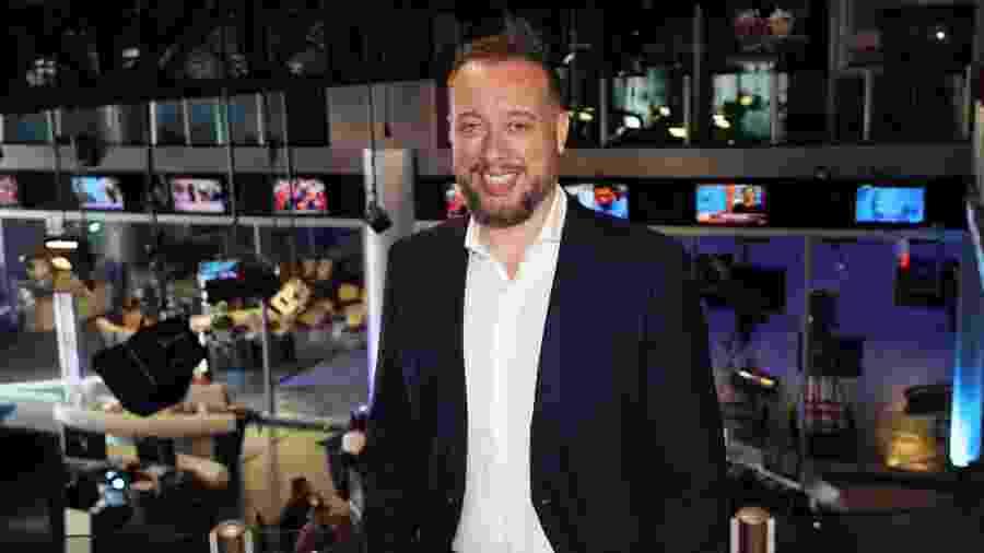 Franz Vacek acumulará o jornalismo e o esporte da Rede TV! - Divulgação / RedeTV!