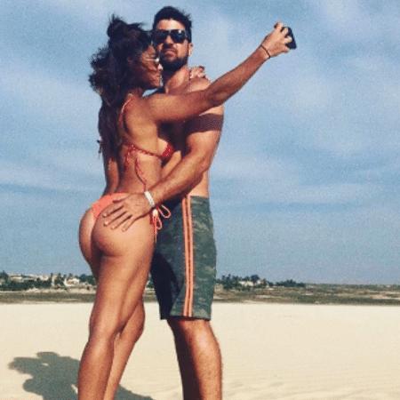 Juliana Paes e o marido curtem praia em Jericoacoara - Reprodução/Instagram