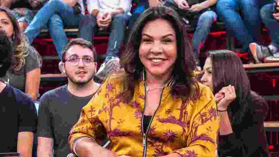 """Monica de Sousa participou do """"Altas Horas"""" neste sábado - Reprodução/Globo"""