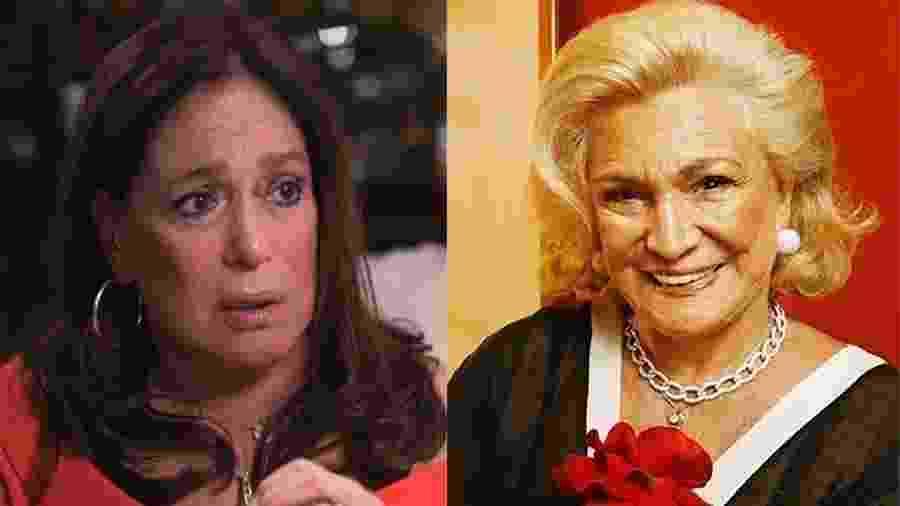 Susana Vieira e Hebe Camargo - Reprodução / TV Globo e Divulgação