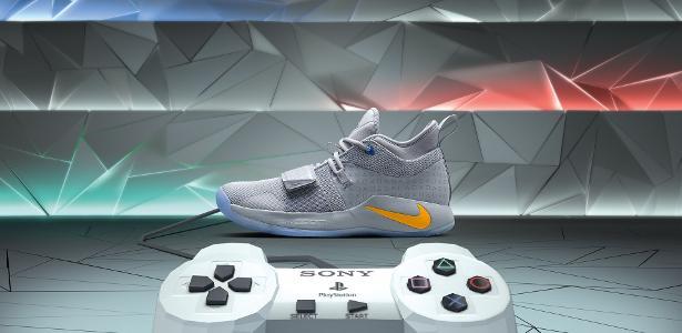 57d165c6c9e Fotos  Tênis do PlayStation + Paul George - 22 11 2018 - UOL Entretenimento