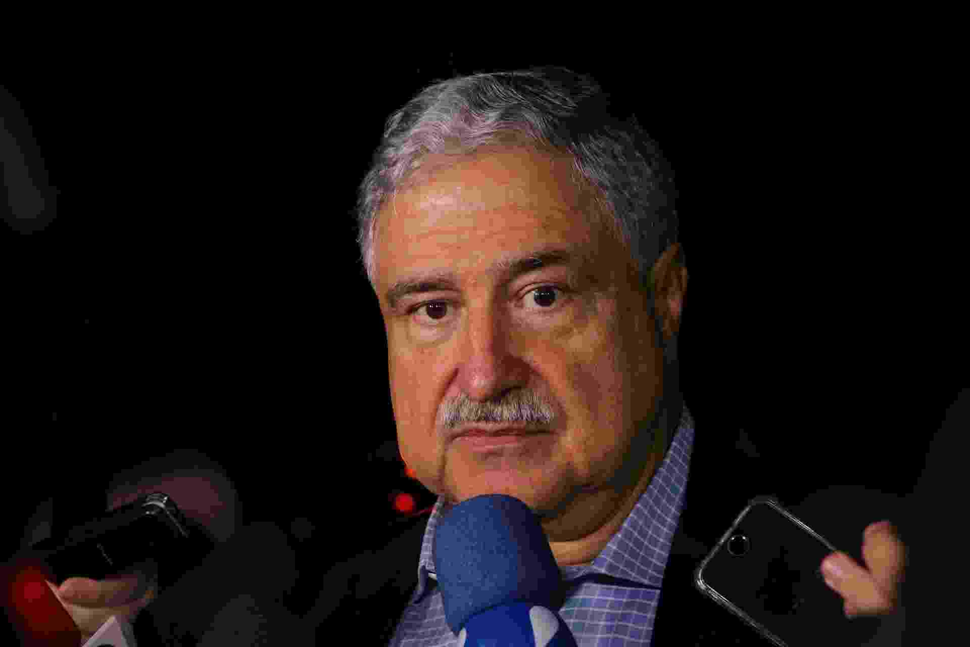 João Saad no velório de Ricardo Boechat - Deividi Correa / AgNews