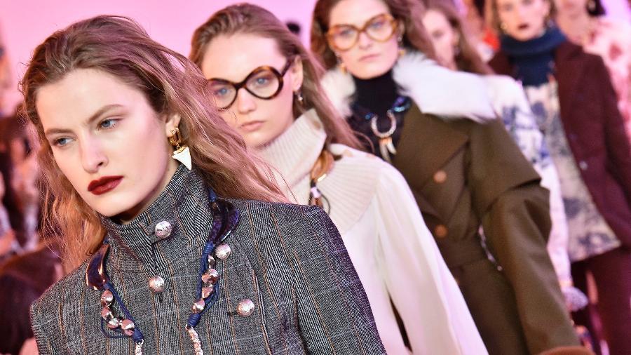 Chloe na Semana de Moda de Paris Inverno 2019-2020 - Getty Images