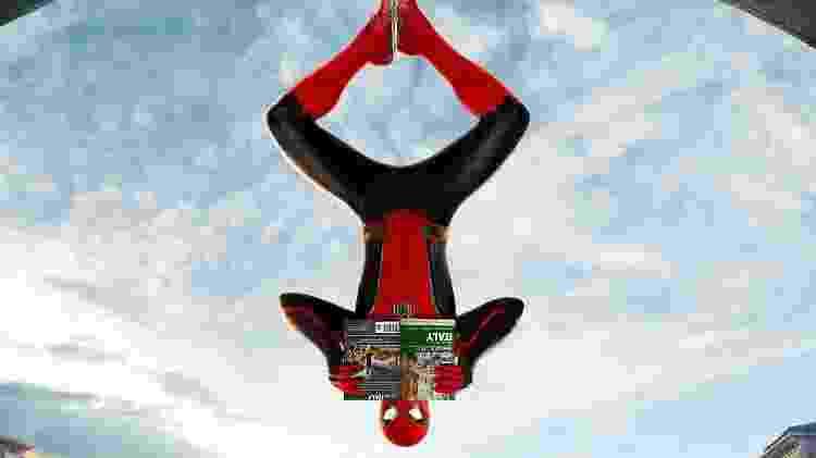 """Detalhe de um cartaz de """"Homem-Aranha: Longe de Casa"""" - Divulgação - Divulgação"""