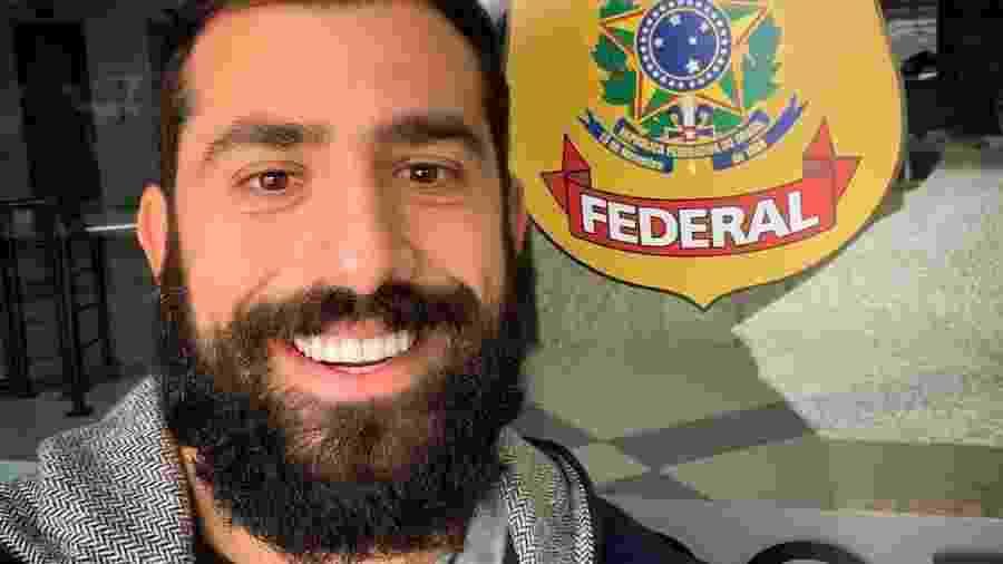 Kaysar Dadour entra com documentação para pedir cidadania no Brasil - Reprodução/Instagram