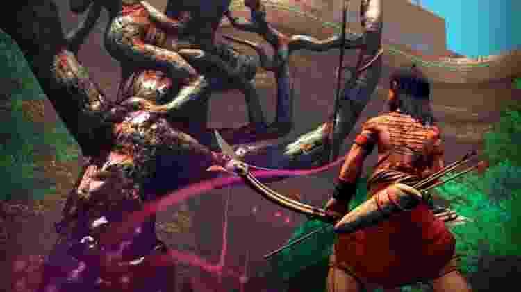 Aritana chega primeiro para Xbox One, e depois para PS4 - Divulgação