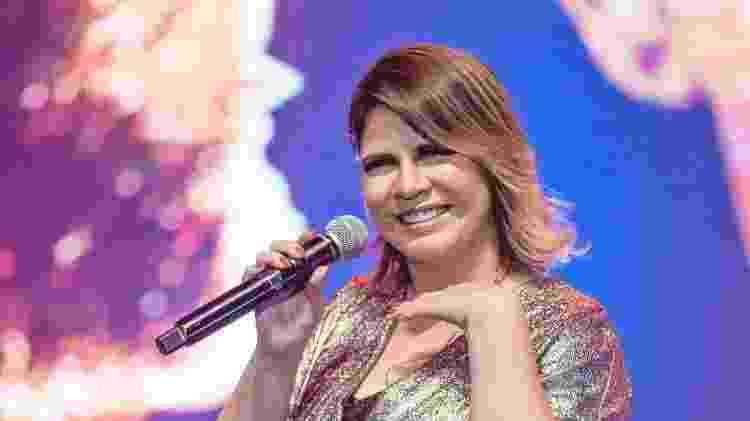 A cantora sertaneja Marília Mendonça em um show recente no Rio de Janeiro - divulgação/ @randesfilho