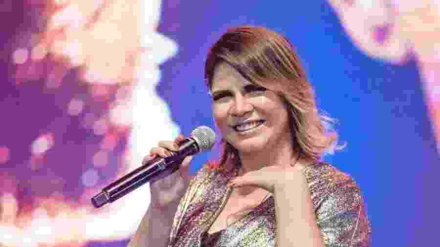 31.ago.2019 - Marília Mendonça em show no Rio de Janeiro - divulgação/ @randesfilho
