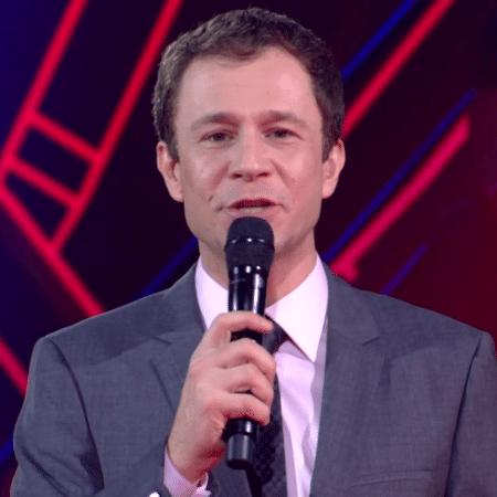 "Tiago Leifert apresenta o ""The Voice Brasil"" - Reprodução/Globo"
