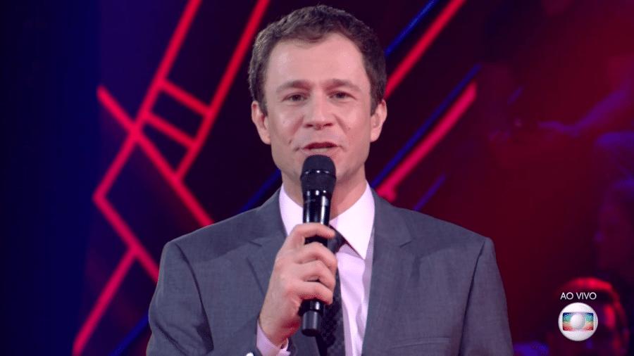 """Tiago Leifert, apresentador do """"The Voice Brasil"""" - Reprodução/Globo"""