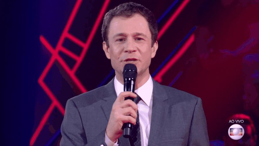 Tiago Leifert, durante The Voice Brasil - Reprodução/Globo