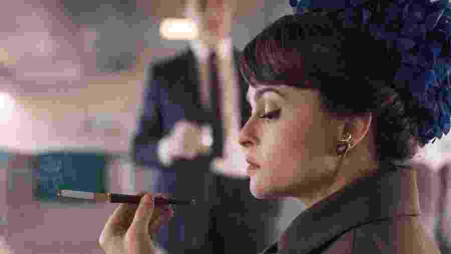 Helena Bonham Carter em cena de The Crown - Reprodução