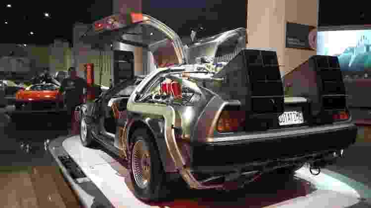 Tem até capacitor de fluxo: DeLorean participou dos três filmes - Vitor Matsubara/UOL