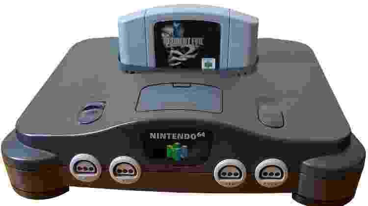 Nintendo 64 e Resident Evil 2 - Reprodução - Reprodução