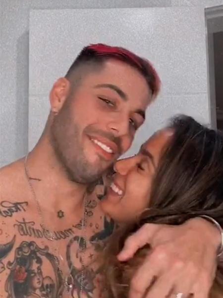 Anitta e Gui Araújo, quando ainda eram um casal - REPRODUÇÃO/INSTAGRAM