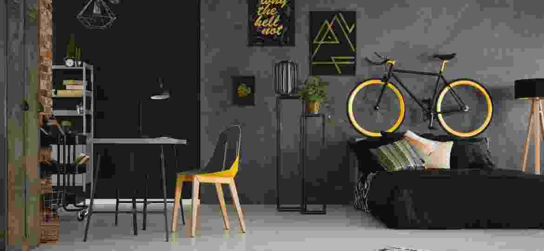 Trabalhar e descansar no mesmo cômodo parece difícil, mas truques de arquitetura, decor e organização podem ajudar - Getty Images