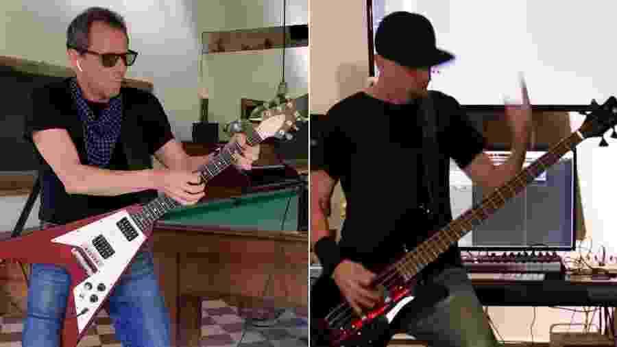 Tony Bellotto e baixista do System of a Down se unem em jam - Reprodução/YouTube