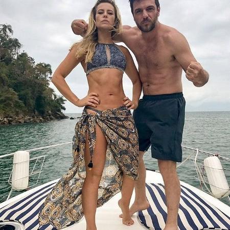"""Paolla Oliveira relembra clique com Rodrigo Lombardi de """"A força Do Querer"""" - Reprodução/Instagram"""