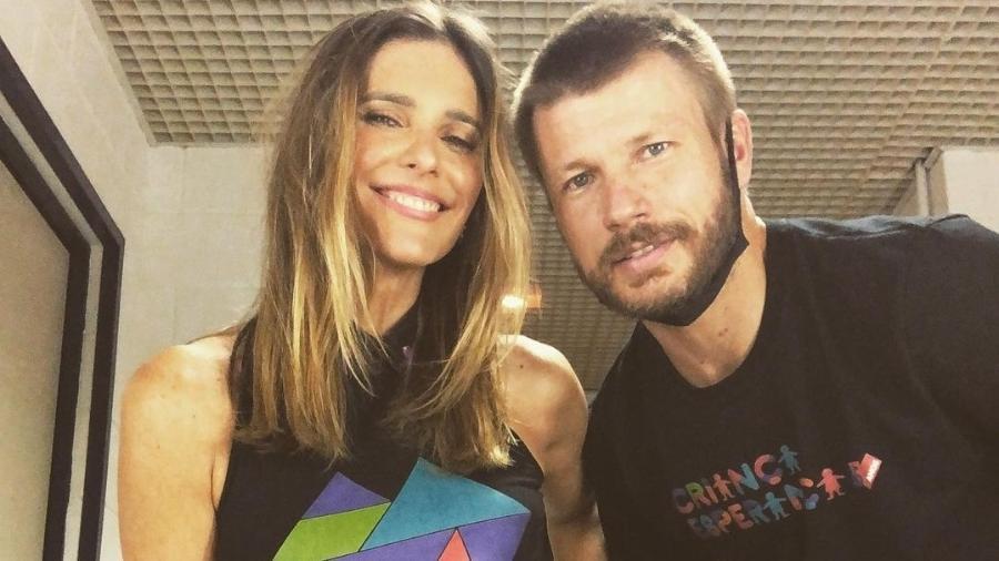 Fernanda Lima relembra início da relação com Rodrigo Hilbert - Reprodução/Instagram@fernandalimaoficial