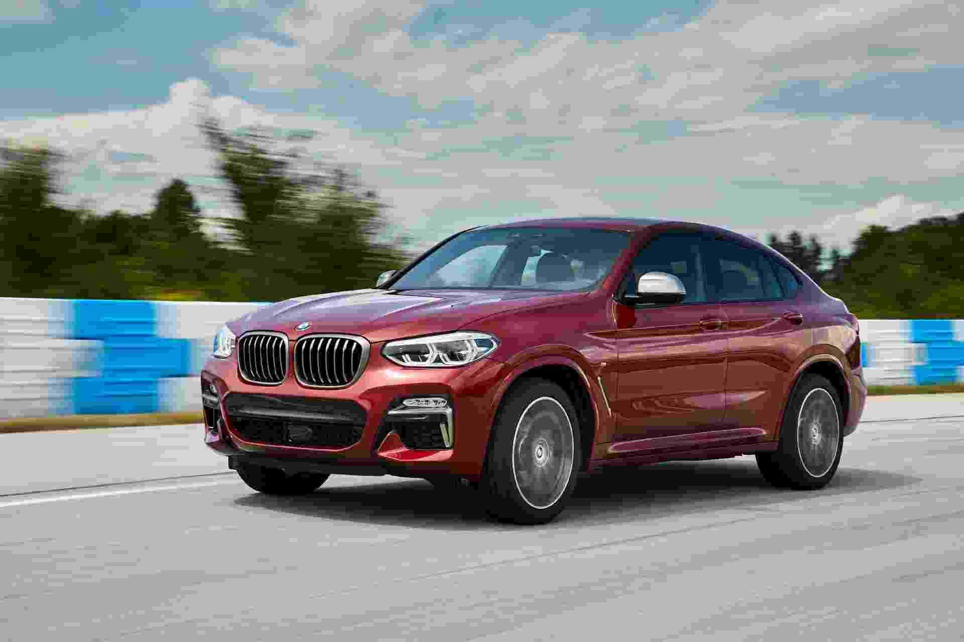BMW X4 M40 - Divulgação