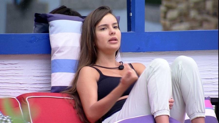 BBB 21: Thaís diz que não vai mais beijar Fiuk no confinamento  - Reprodução/Globoplay