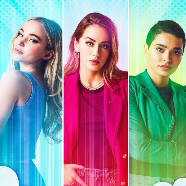 Dove Cameron (Lindinha), Chloe Bennet (Florzinha) e Yana Perrault (Docinho) são as Meninas Superpoderosas