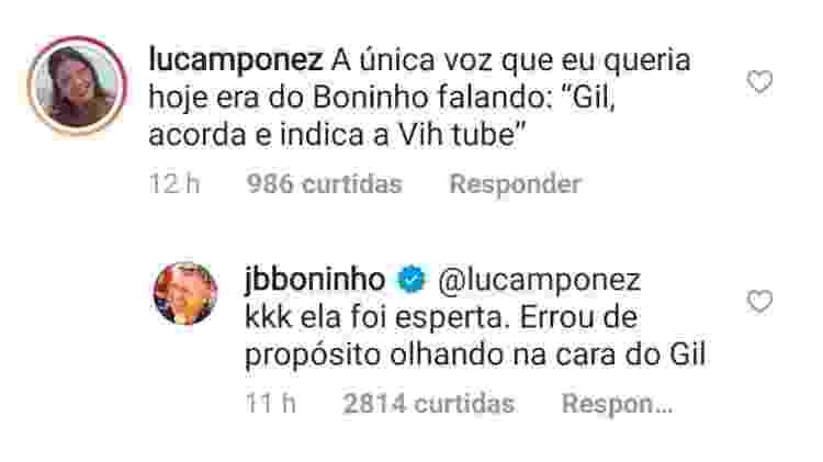 BBB 21: Boninho opina sobre atitude de Viih Tube em prova do líder - Reprodução/Instagram - Reprodução/Instagram
