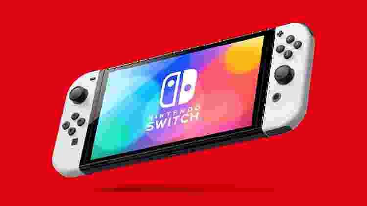 Nintendo Switch OLED Model - Divulgação/Nintendo - Divulgação/Nintendo