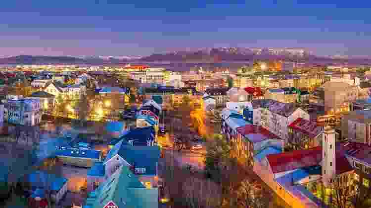 Reykjavik, capital e a maior cidade da Islândia: no topo da lista - Arctic-Images/Getty Images - Arctic-Images/Getty Images