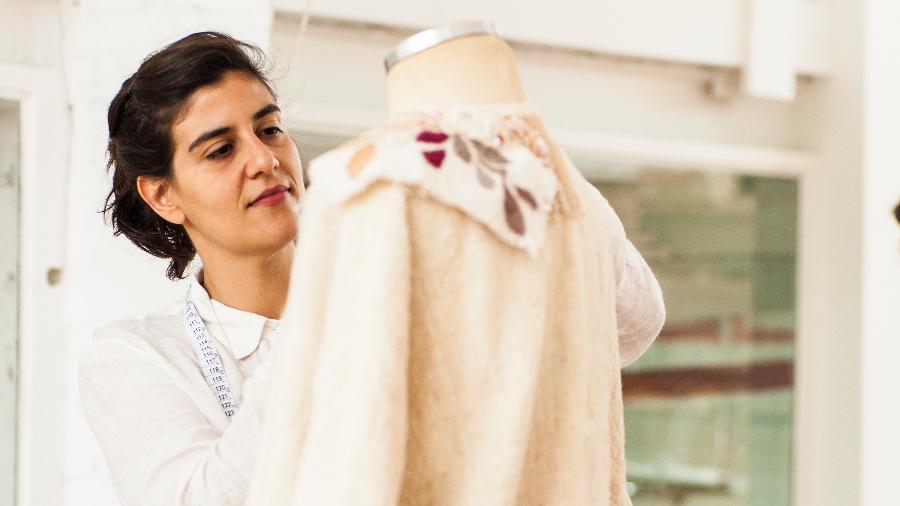 A estilista Flávia Aranha criou a marca que leva seu nome em 2009 - Maria Beatriz Machado