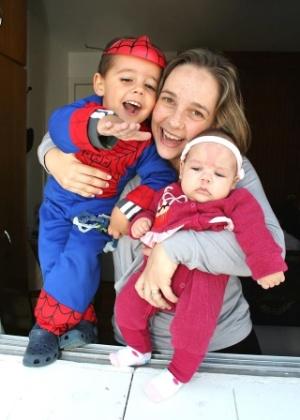 Mãe de Thiago e Laura, Beatriz Mugnaini fez repouso absoluto na segunda gravidez - Arquivo pessoal