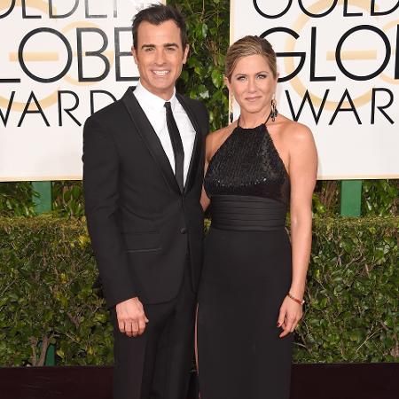 Jennifer Aniston e Justin Theroux - Getty Images