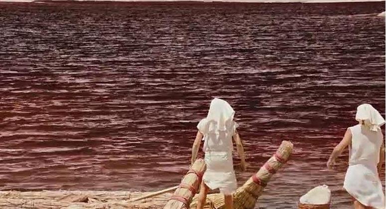 As águas do rio Nilo viram sangue após Ramsés desdenhar do poder divino