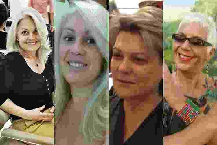 Mulheres assumem cabelo branco - Arquivo pessoal