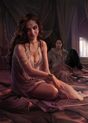 Ilustração da princesa Arianne divulgada no blog do escritor George R.R. Martin - Reprodução