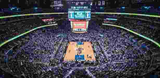 Amway Center, casa do time de basquete do Orlando Magic - Reprodução/Facebook Orlando Magic