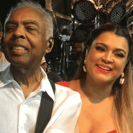 Gilberto Gil sobe no trio elétrico da filha Preta Gil em Salvador - Divulgação/Instagram