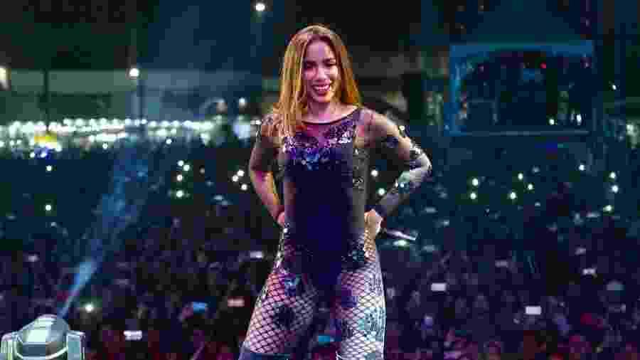 A cantora Anitta foi uma das atrações deste domingo, na tradicional festa junina da Portuguesa, em São Paulo - Manuela Scarpa/Brazil News