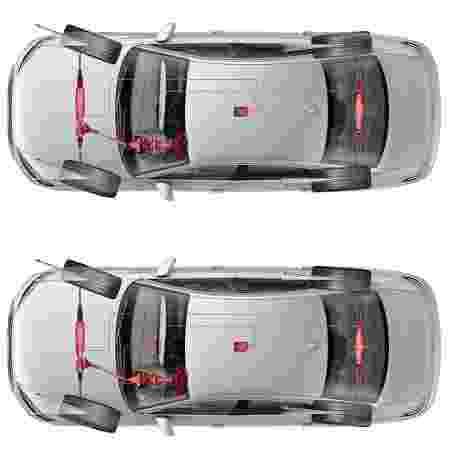 Sistema de quatro rodas esterçantes do novo Audi A8 - Divulgação - Divulgação