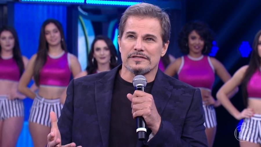 """Edson Celulari relembra luta contra o câncer no """"Domingão do Faustão"""" - Reprodução/TV Globo"""