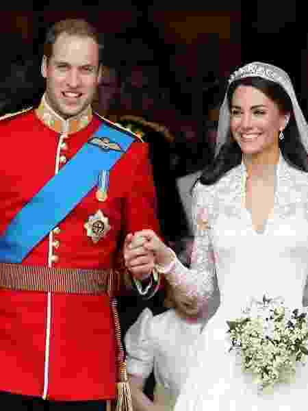 Príncipe William se casa com Kate Middleton em 2011 - Getty Images