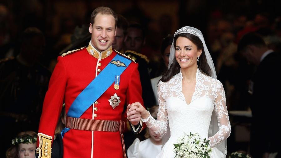 Príncipe William se casa com Kate Middleton em 2011 - Getty Images