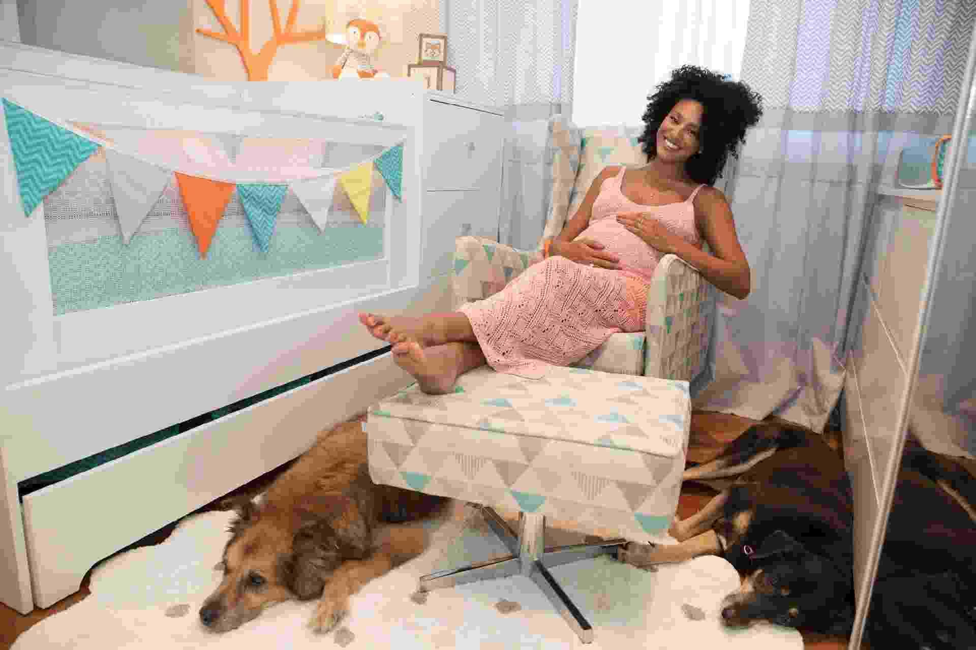Sheron Menezzes revela o quarto de seu bebê - Divulgação