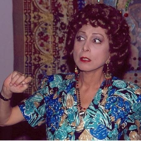 "Aracy Balabanian como a Dona Armênia de ""Rainha da Sucata"" (1990) - Nelson di Rago / TV Globo"