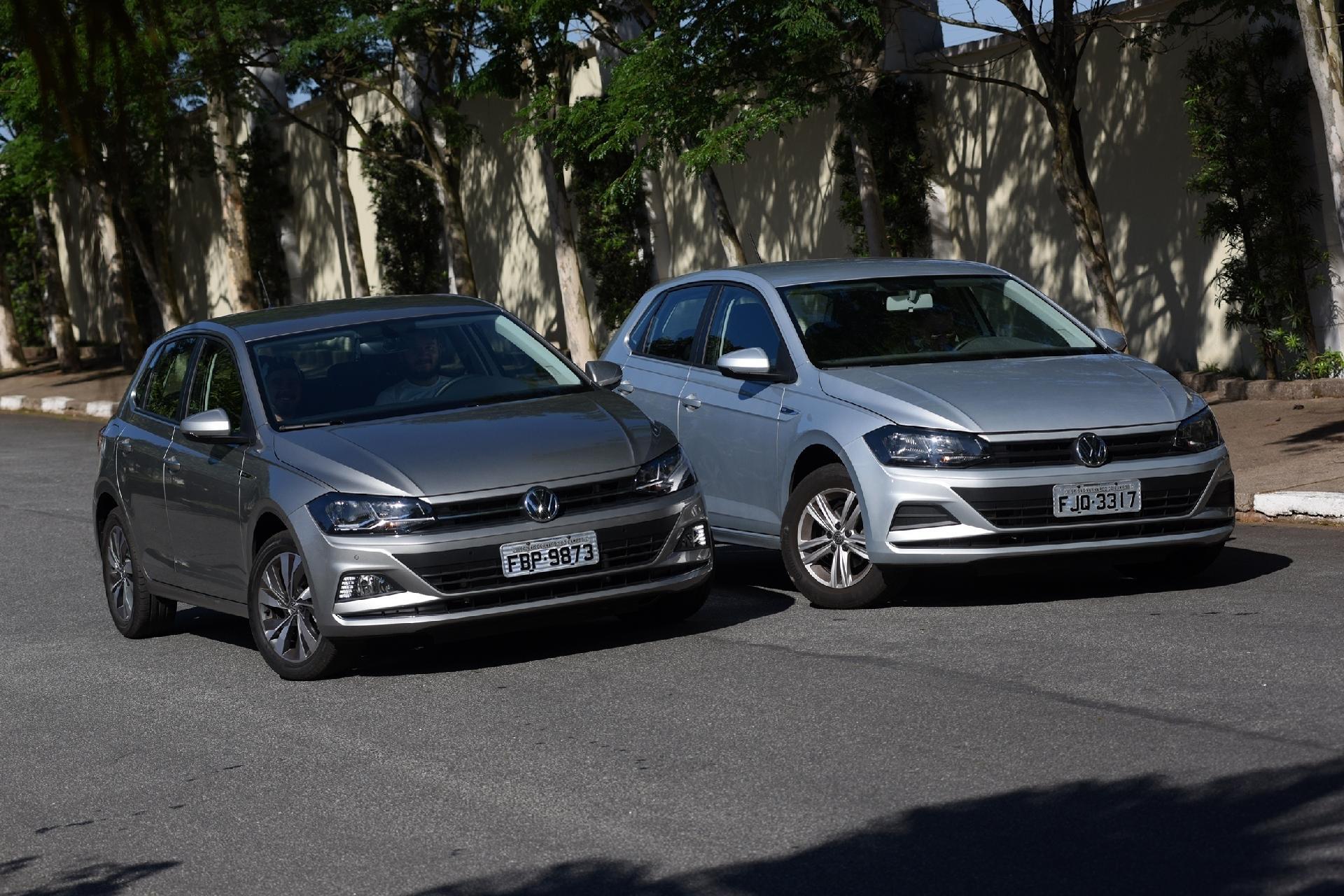 be48cfd3d3 Volkswagen Polo 1.6 contra Polo 1.0 turbo  qual é a melhor compra
