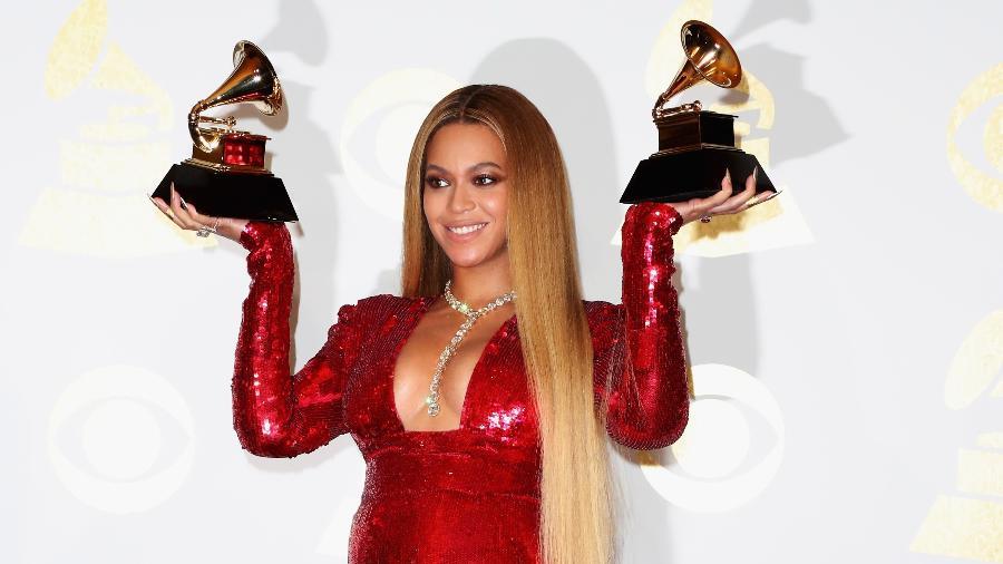 Beyoncé durante o Grammy 2017 - Getty Images