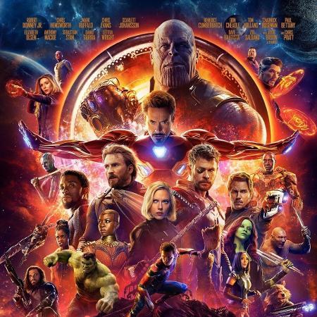 """Poster final de """"Os Vingadores: Guerra Infinita"""" - Divulgação"""
